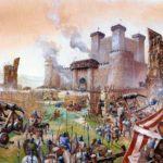 Осада крепостей в средневековье
