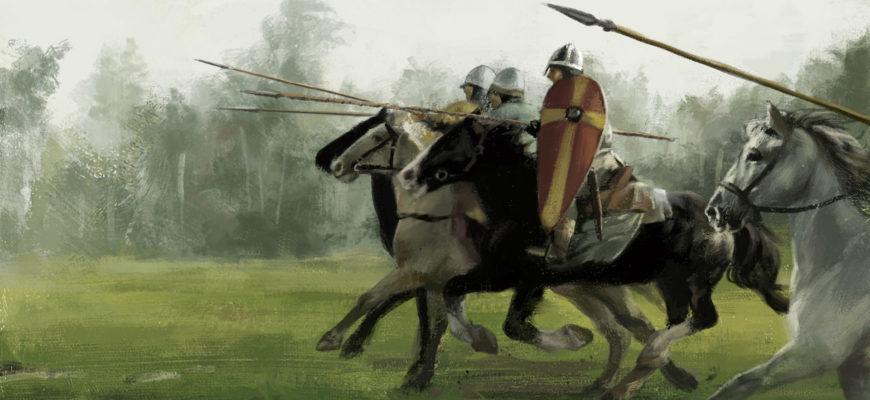 атака рыцарей