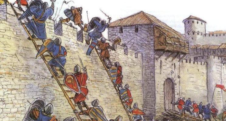осада крепости