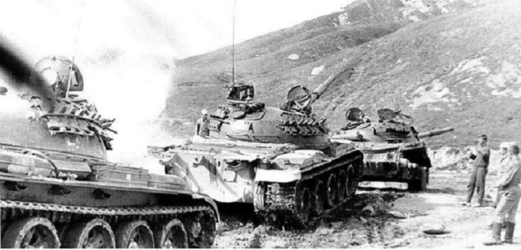 танки Афганистан
