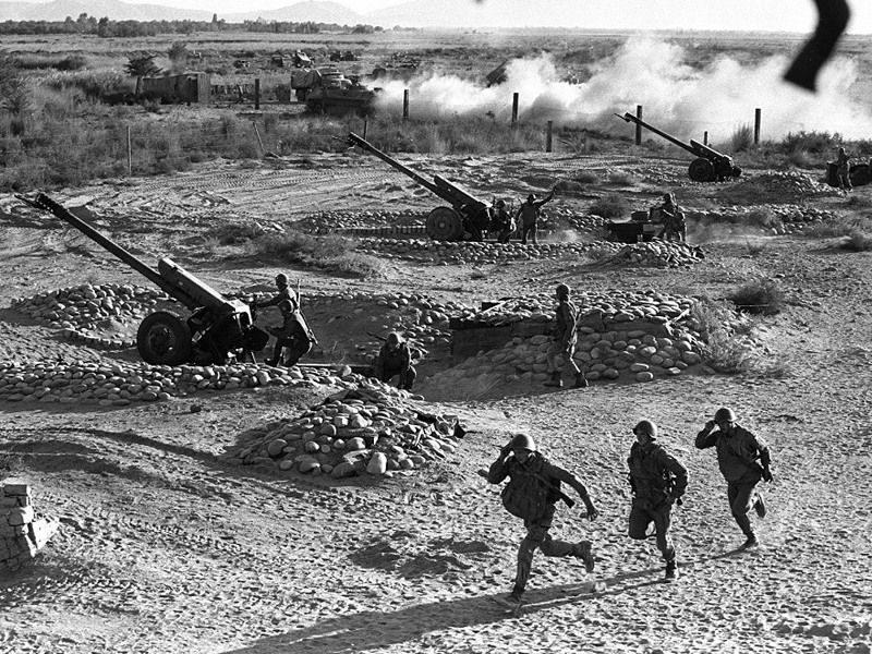 артиллерия Афганистан
