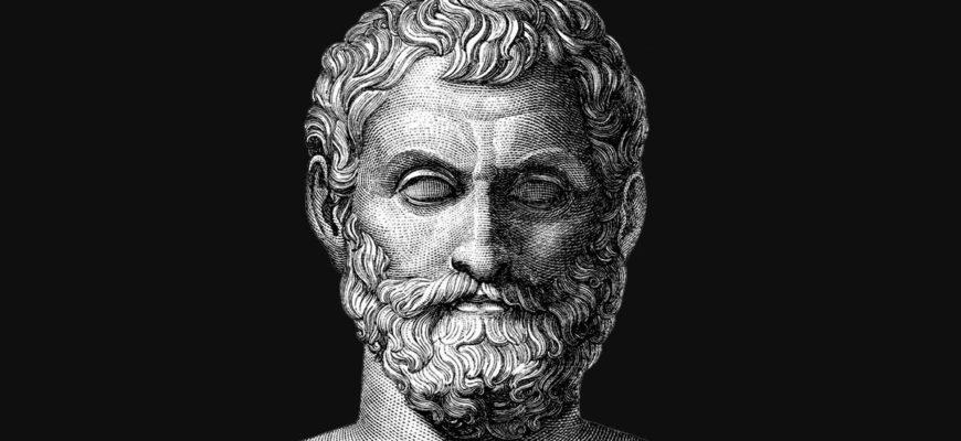 Фалес Милетский — биография философа