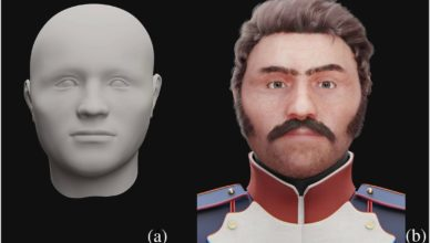 Реконструирован внешний облик французского солдата, погибшего в России в 1812 году