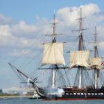 Одни из первых боевых кораблей США