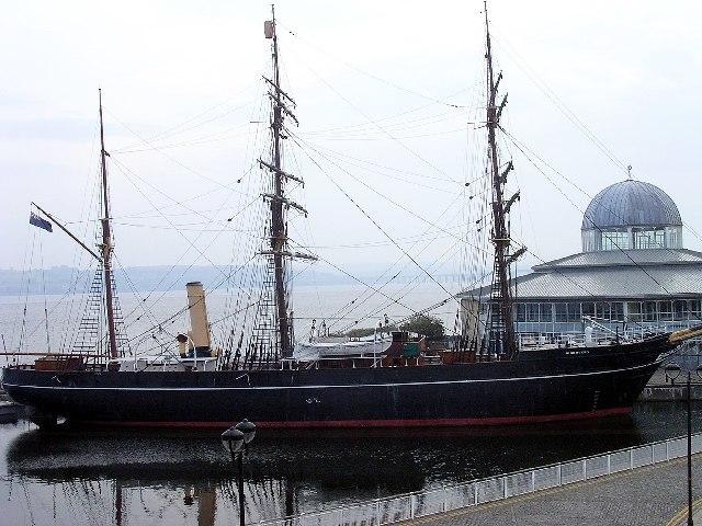 Корабль Дискавери Скотта