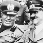 Муссолини Гитлер