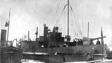 корабли Онежской флотилии