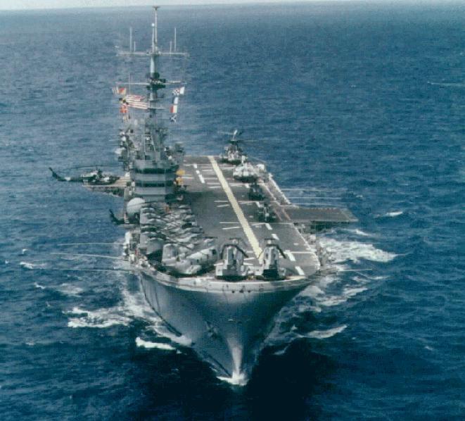 Вертолётоносец USS Iwo Jima lph2