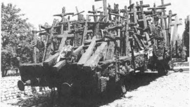 Памятник расстрелянным польских пленных