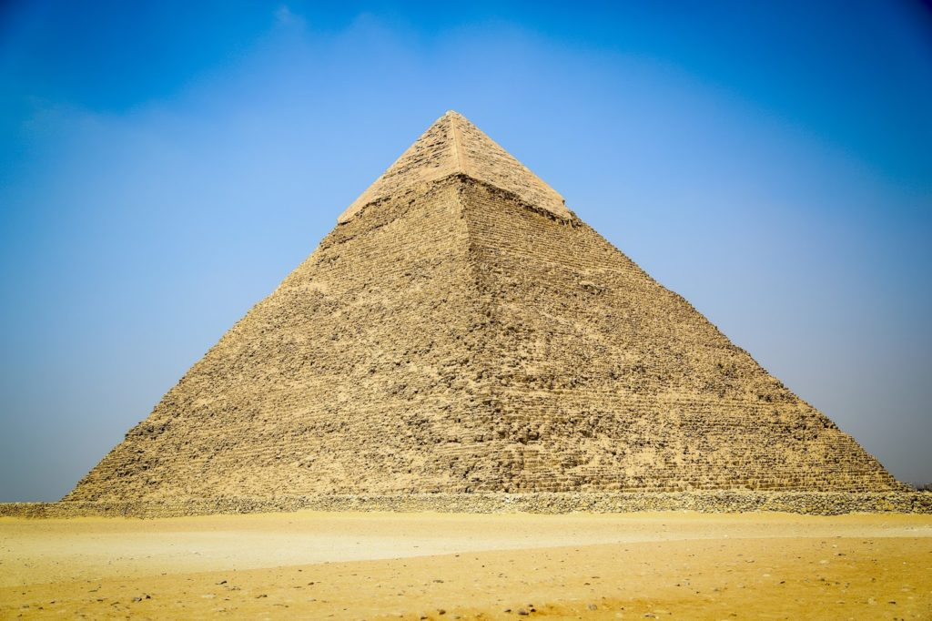 Как были построены великие египетские пирамиды?