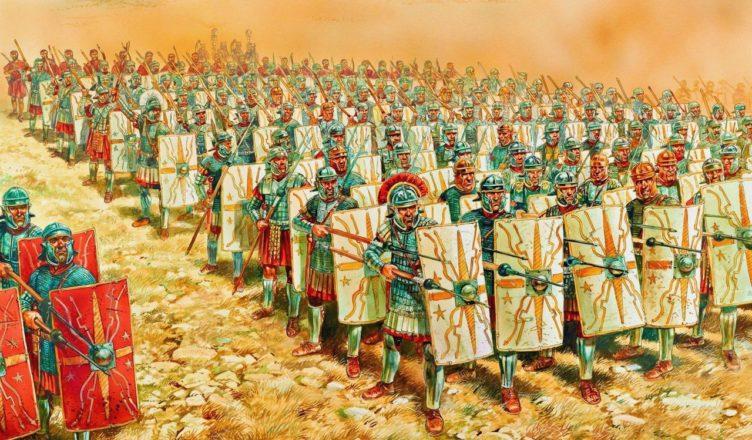 Самая сильная армия древности