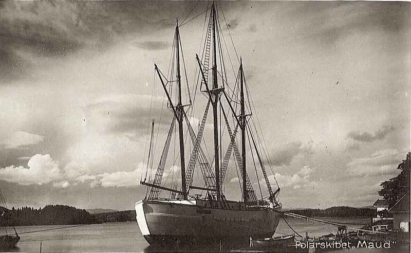 «Мод» в арктическом плавании