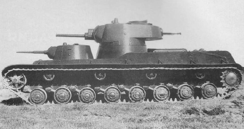 Как рождались первые советские тяжелые танки