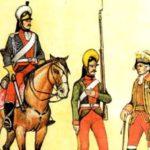 Легкоконные полки - пограничники XVIII века