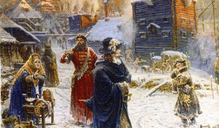 Бани и храмы в Петровской армии