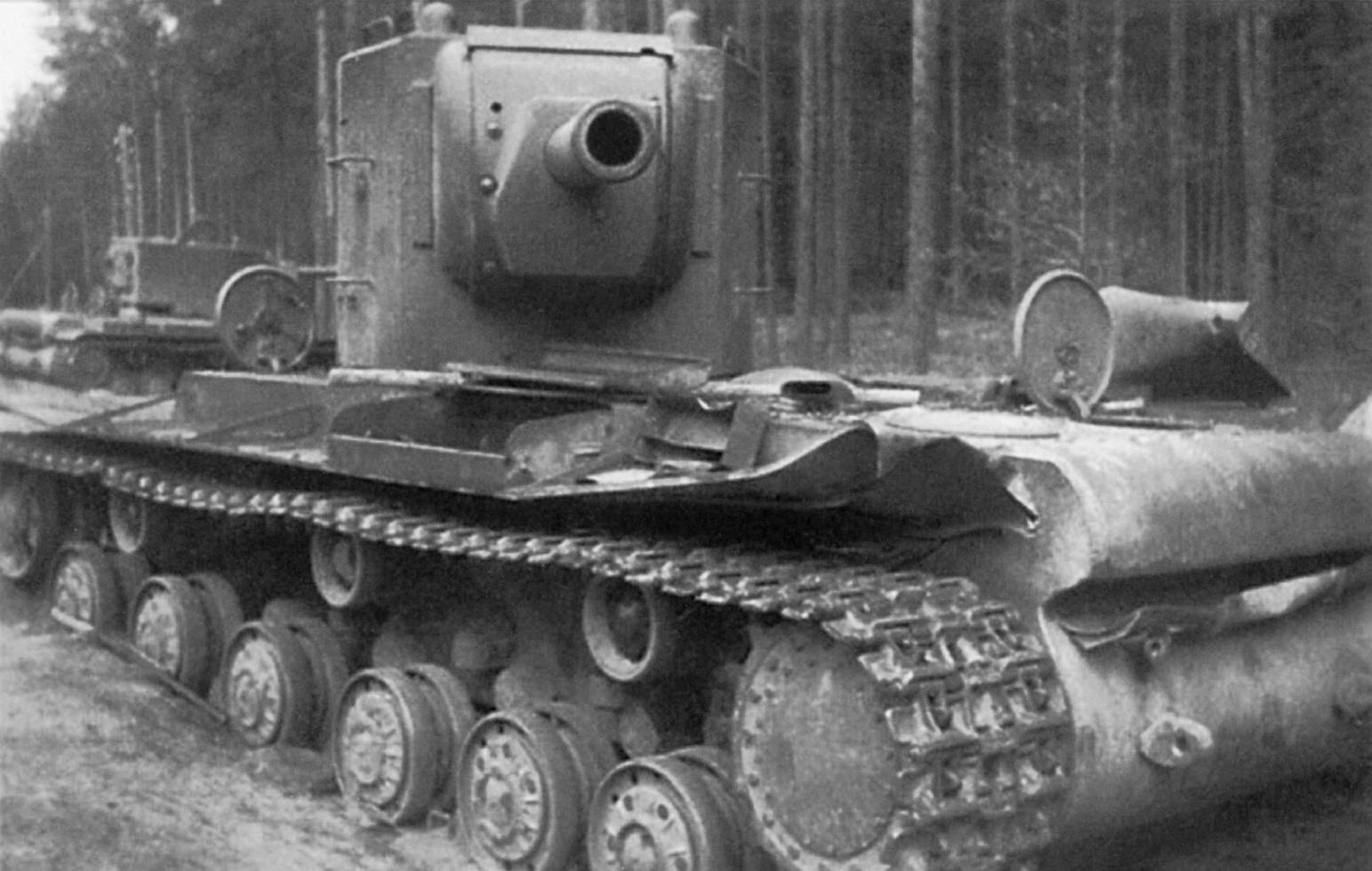 Проблемы танков КВ-1 и КВ-2
