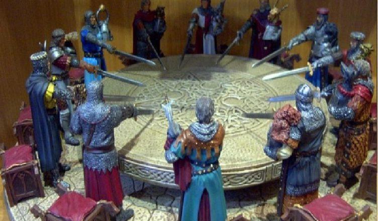 Легенды о рыцарях круглого стола
