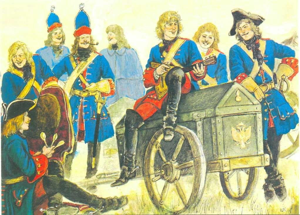 Провиант в Петровской армии