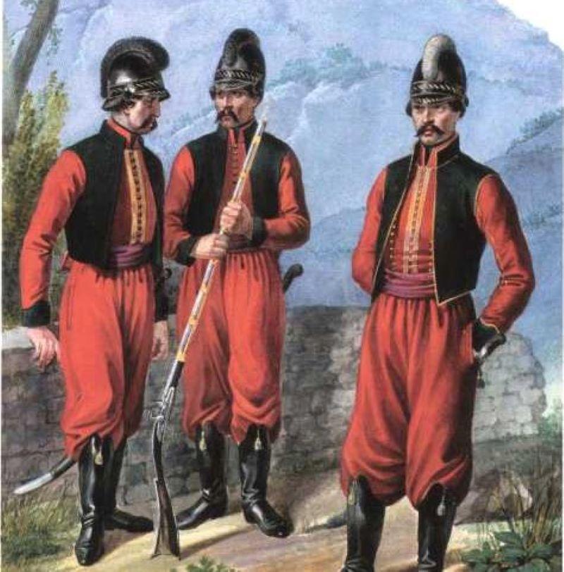 Албанское войско