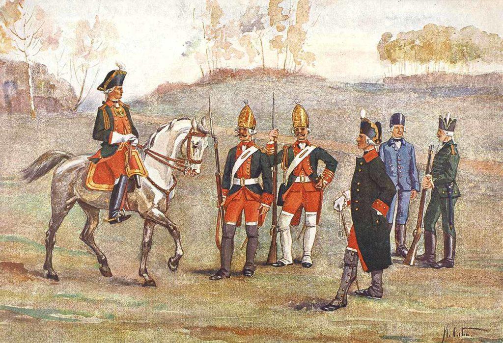 Гигиена в Петровской армии