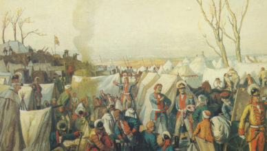 Как был устроен лагерь Русской армии