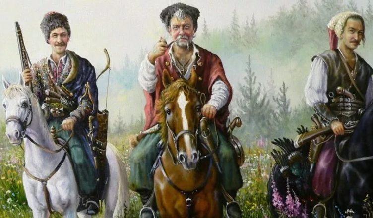Козак татарский, казак российский