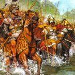 Как было разбито войско Ариобарзана, попавшее в засаду Александра Македонского