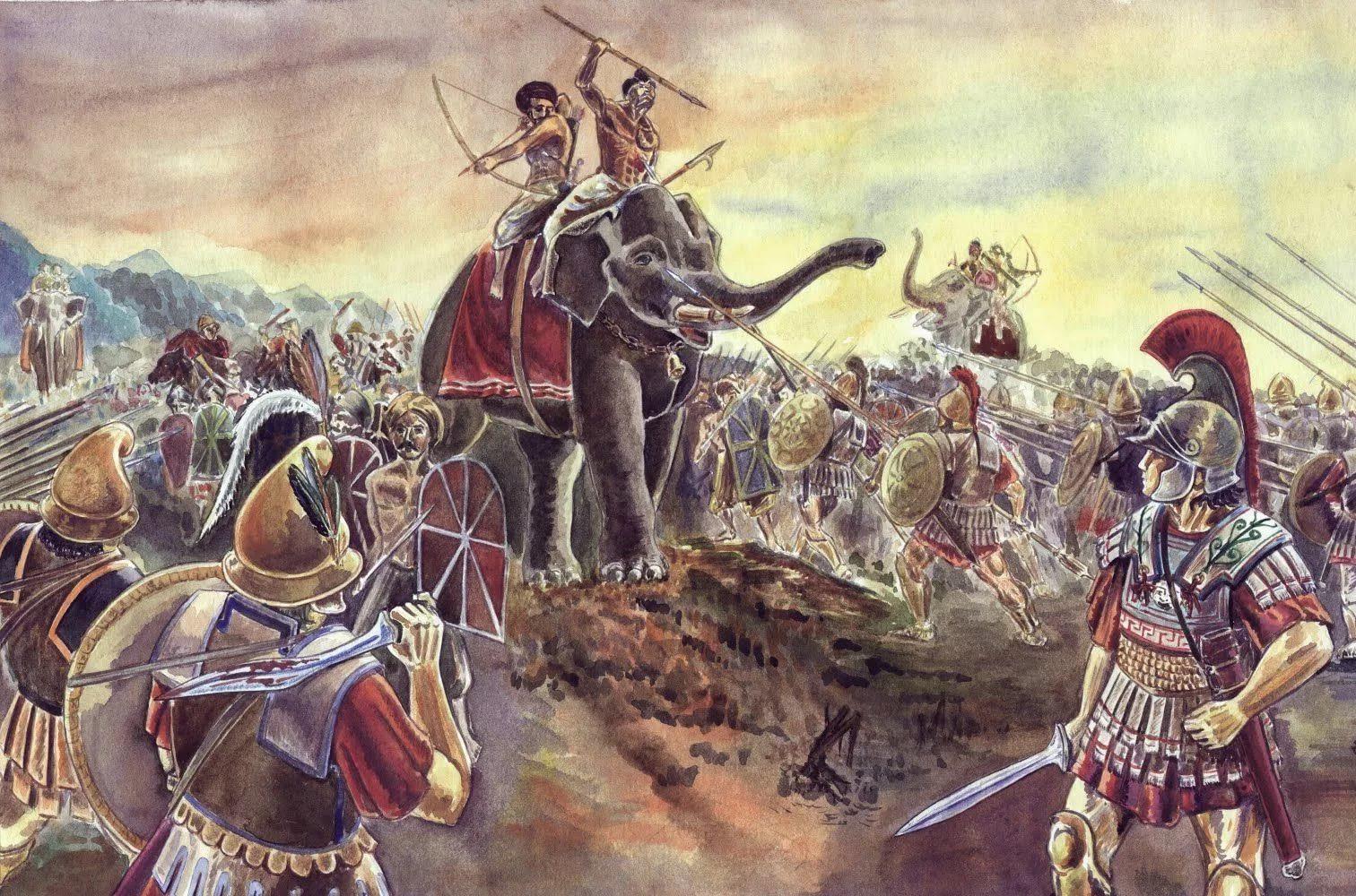 Война в Бактрии и Согдиане