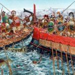 Как спартанцы воевали против персов на море