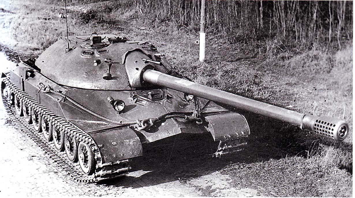 Против какого врага был разработан тяжелый танк ИС-7?