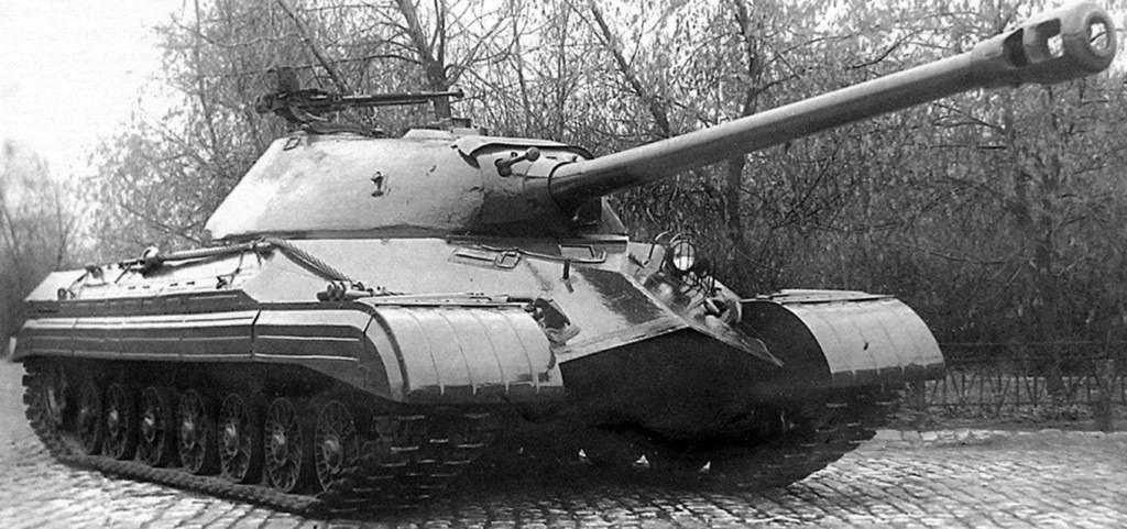 Гибрид танков ИС-7 и ИС-4 получил название ИС-8