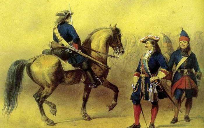 Провизия русского солдата в XVIII веке