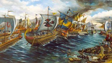 Битва при Саламине на Кипре