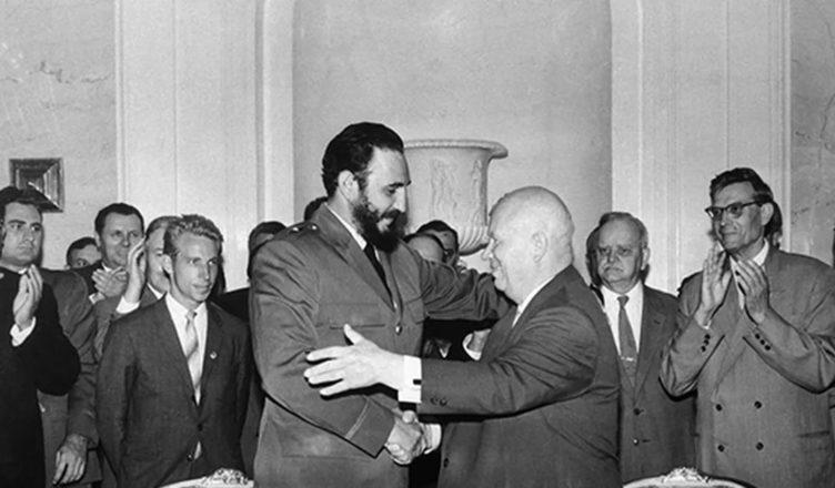 Дружба Кастро с Советским Союзом