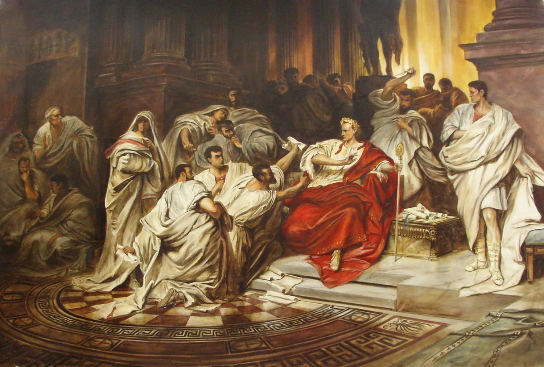 За что убили Цезаря?