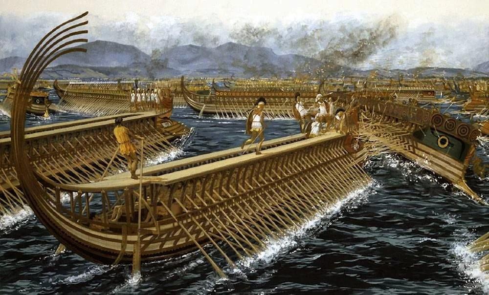 Военный флот Греции 480 года до нашей эры