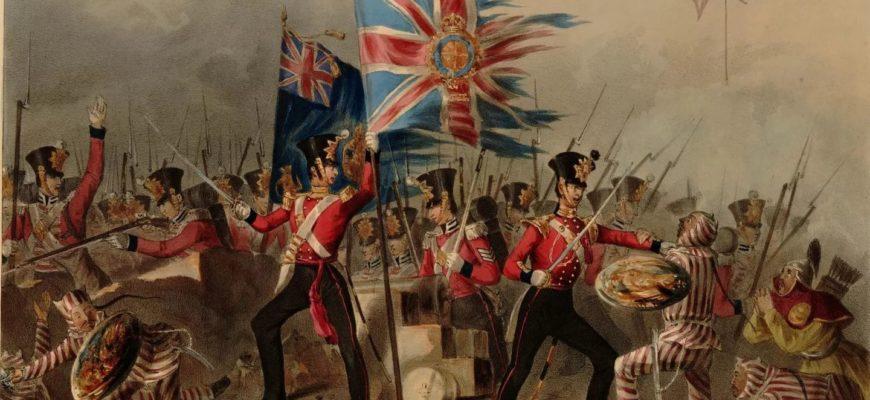 Опиумные войны между Британией и Китаем