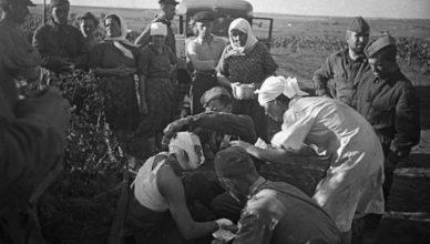 Как немцы поступали с раненым противником