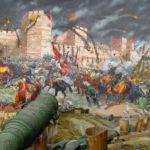 Падение Константинополя под ударами османских пушек
