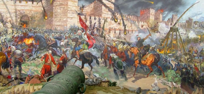 осада византии