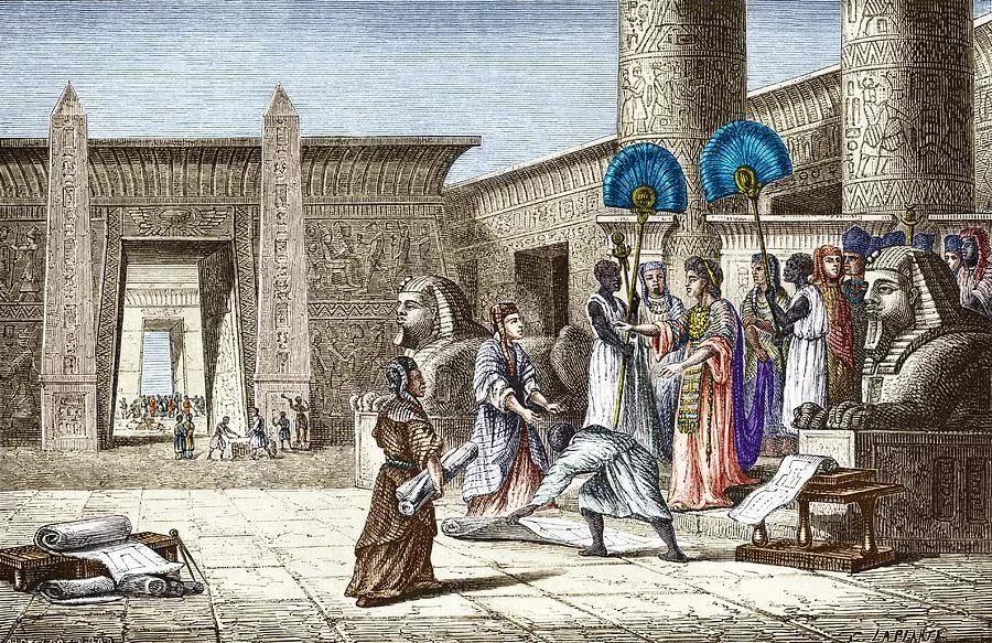 Крах Древнего Египта