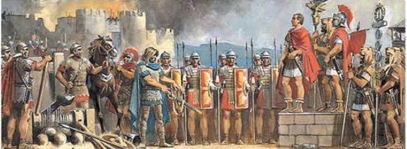 Политика Цезаря победила галлов
