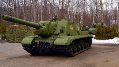 Как модернизировали знаменитую ИСУ-152