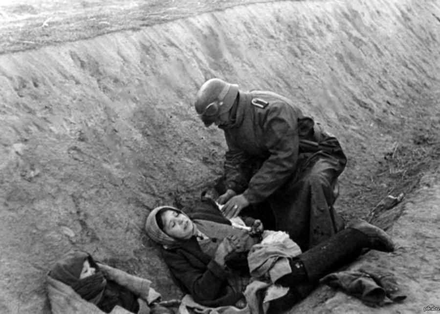 Как гитлеровцы относились к раненым и медикам