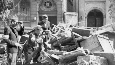 Казнь немцами раненых при Варшавском восстании