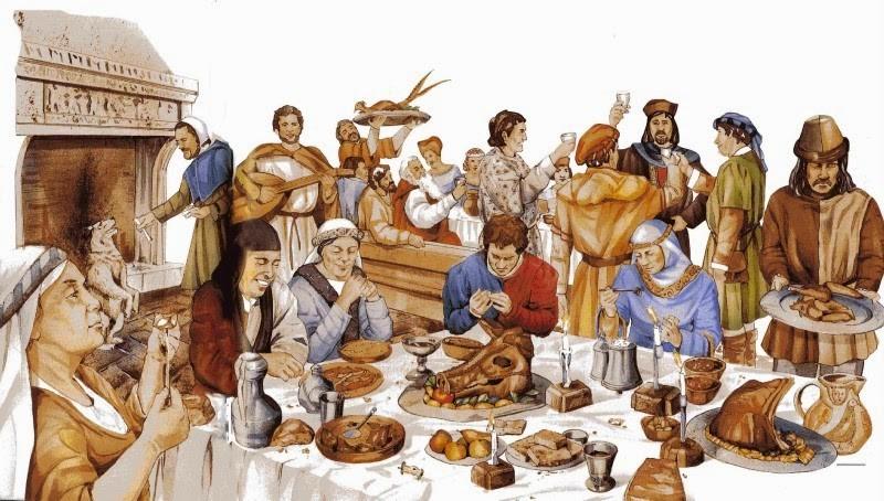 Чем питались люди в средние века