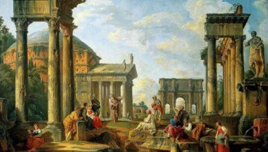 Римская империя способствовала распространению христианства в Европе