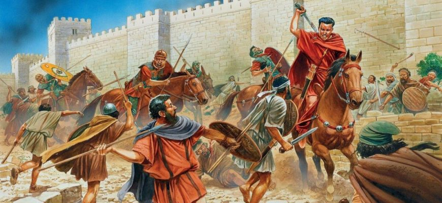 Как римляне захватили Египет