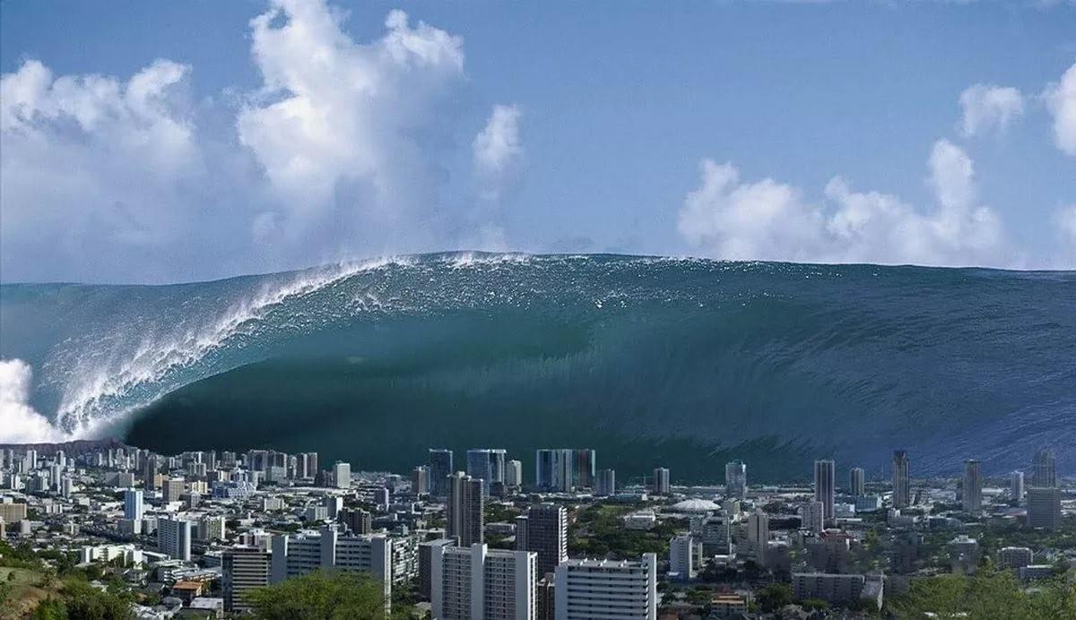 Самые мощные цунами в истории