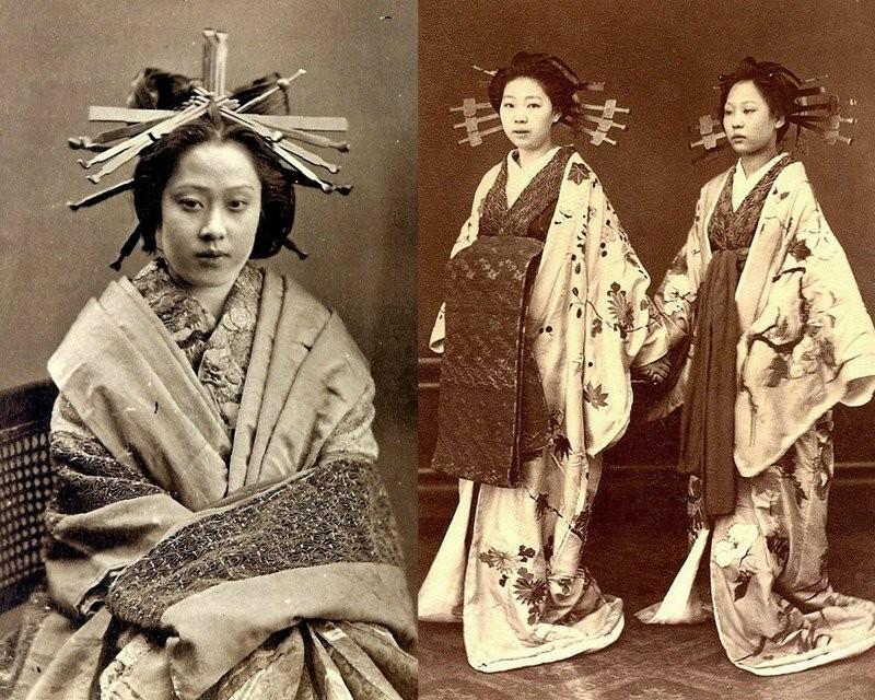 Куртизанки и гейши